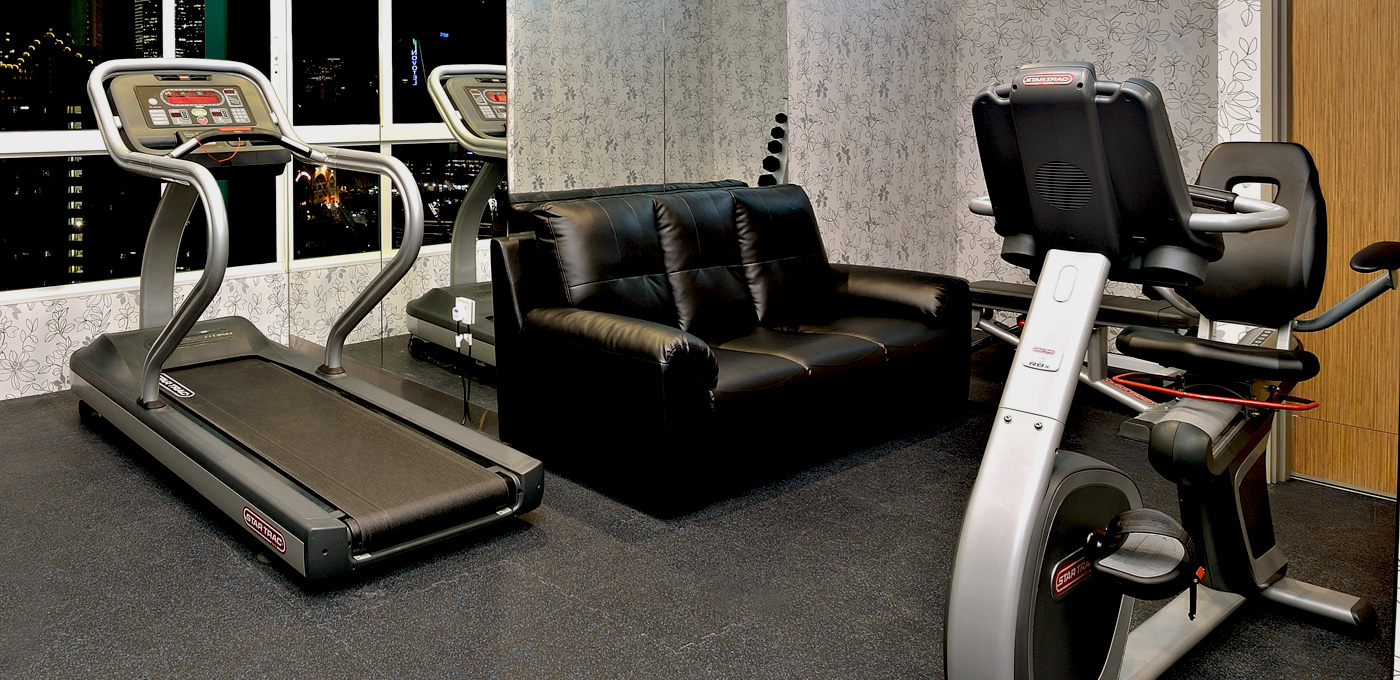 MODERN AND WELL-EQUIPPED EXERCISE FACILITIES